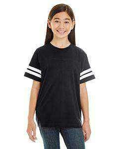 Youth OCPS ACE Spangle Rhinestone Bling Jersey with stripes Shirt- standard logo-multiple colors available Schools Becky's Boutique