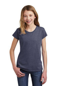 Youth University Carillon Spangle Bling short sleeve shirt Schools Becky's Boutique XS Heather Navy Blue