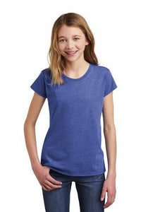 Youth University Carillon Spangle Bling short sleeve shirt Schools Becky's Boutique XS Heather Royal Blue