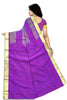 Stunning Multicolor Art Silk Saree Back view