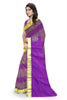 Stunning Multicolor Art Silk Saree Side view