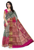 Attractive Leaf Green & Orange Red Bridal Collection front view