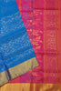 Fasnic's Soft Silk Saree - Floral Design Saree . Unstitched blouse attached