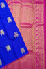 Deep Blue & Golden Pink Kanjeevaram Bridal Collection