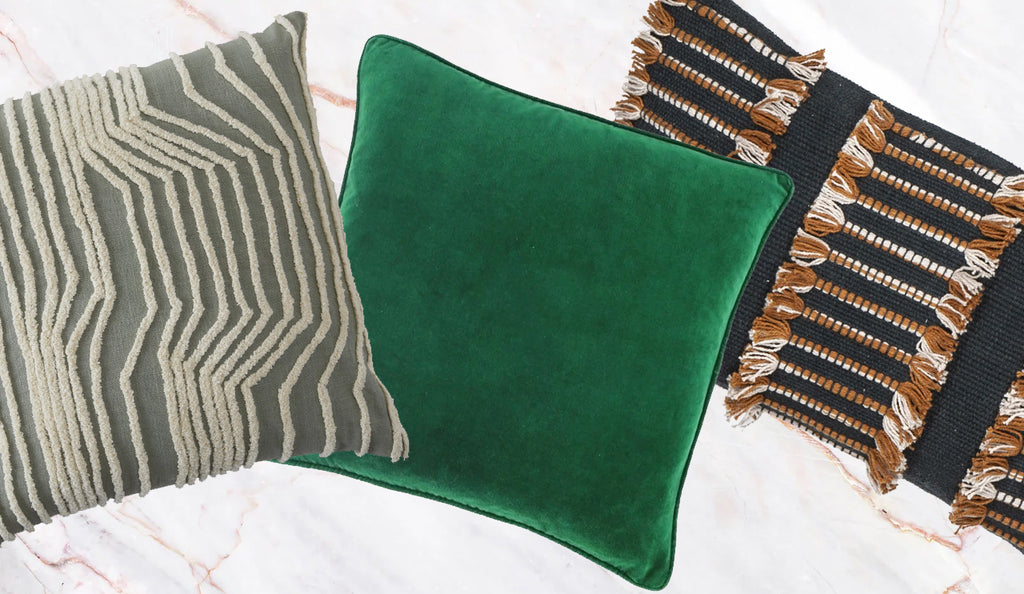 How to decorate your living space with cushions