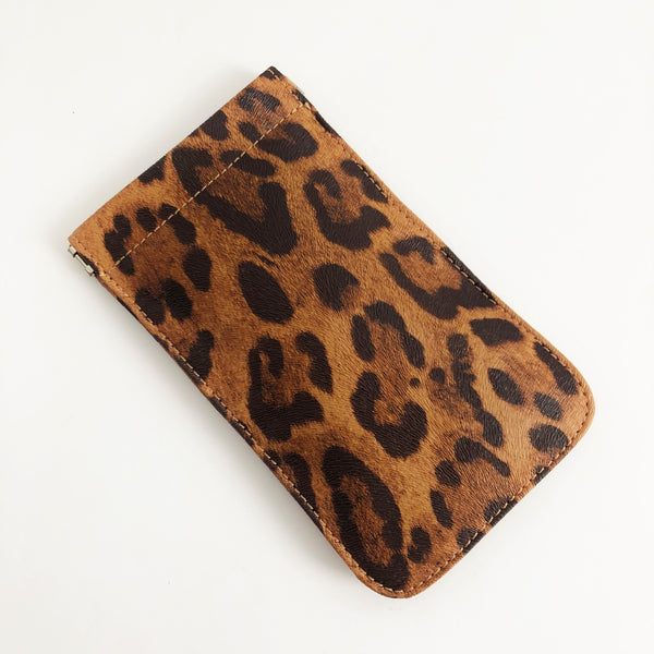 Sunglasses Case Leopard