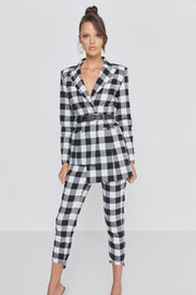 The Cross Check Blazer - Alexa Nice