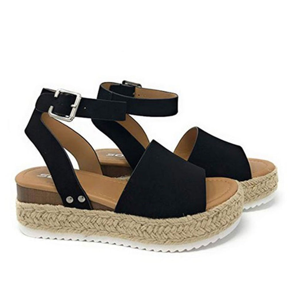 Bexley Wedge Black - Alexa Nice