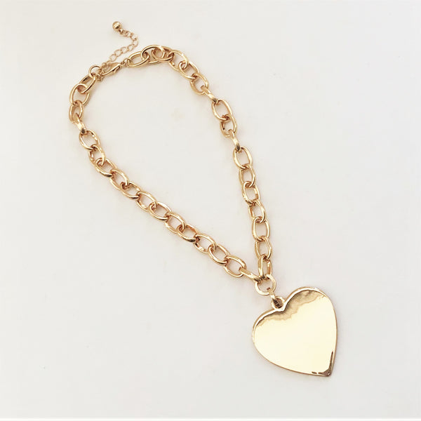 Elaine Heart Necklace
