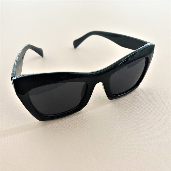 Kim Sunglasses Black - Alexa Nice