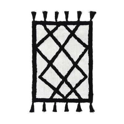 Mila Black & White Splash Mat - Alexa Nice