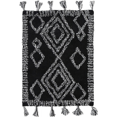 Hali Cotton Mat Black - Alexa Nice