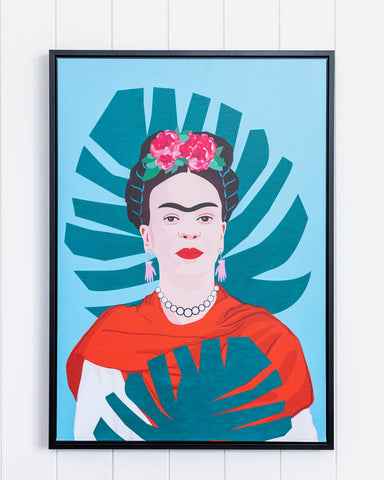 Framed Artwork -Frida Frond - Alexa Nice