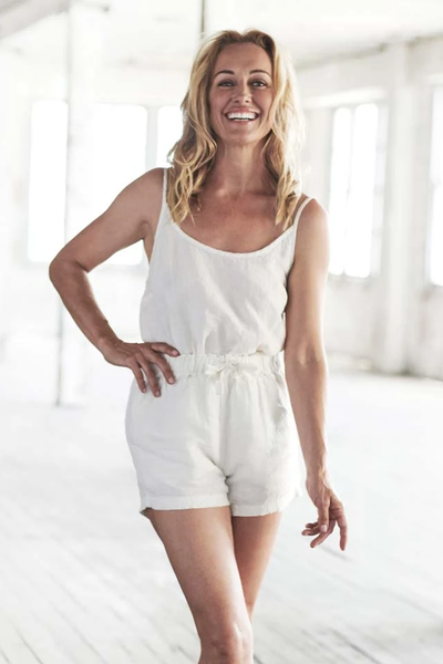 The Linen Shorts - White - Alexa Nice