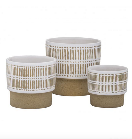 Athena Pots (Set of 3) - Alexa Nice