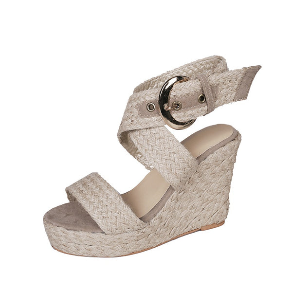 Morocco Wedge Natural - Alexa Nice