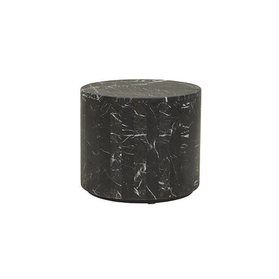 Elle Round Block Side Table - Alexa Nice