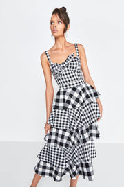 The Cross Check Skirt - Alexa Nice