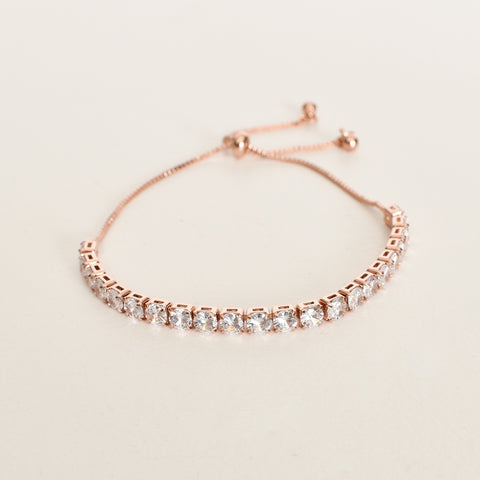 Classic Adjustable Bracelet (Rose) - Alexa Nice