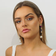 Lacey Drop Earrings - Alexa Nice