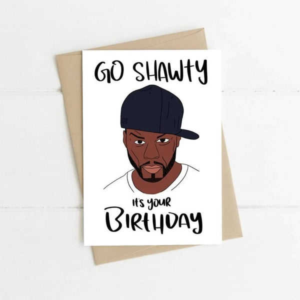 50 Cent Birthday Card