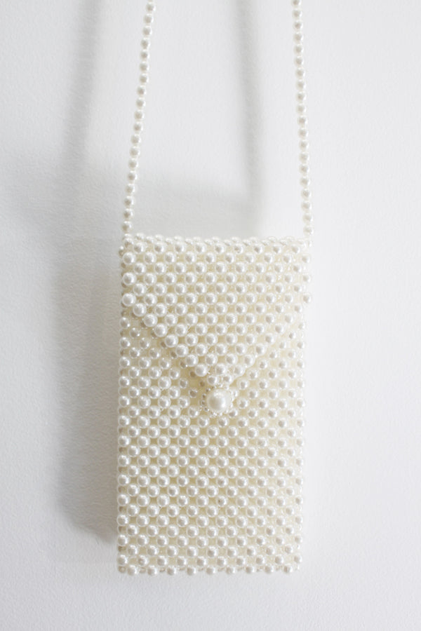 Pearl Crossbody Phone Bag