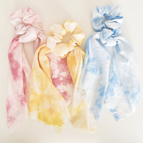 Set of 3 Tie Dye Scrunchies - Alexa Nice