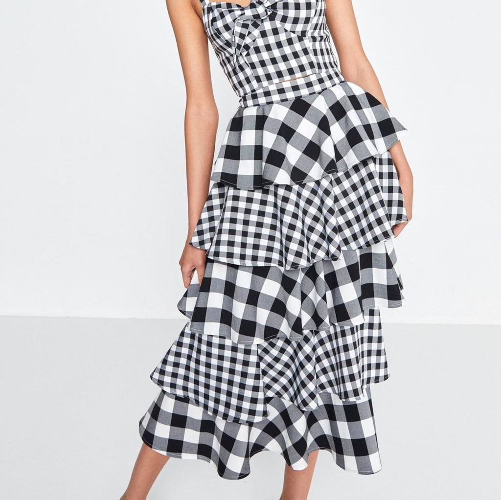 The Cross Check Skirt