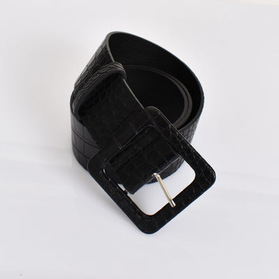Chicago Belt Black - Alexa Nice