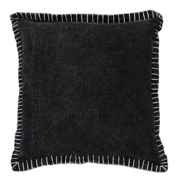 Levi Cushion Black