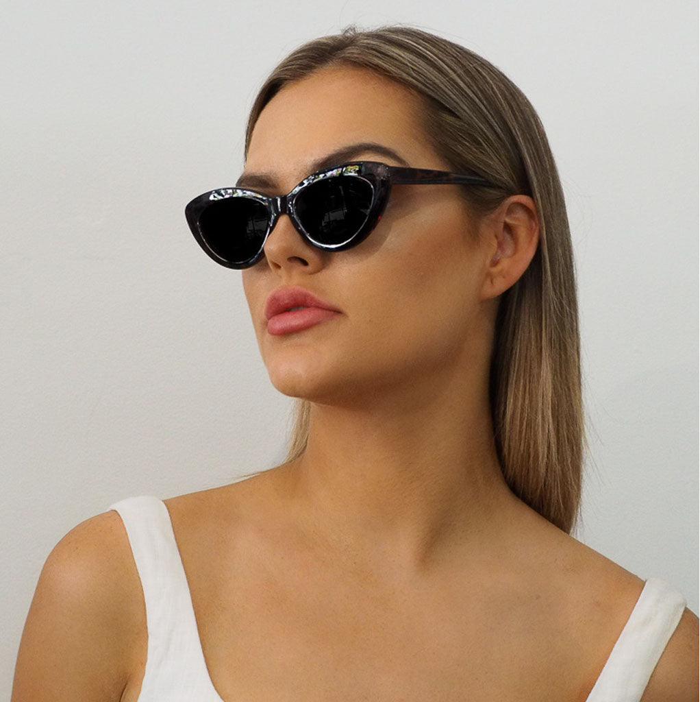 Kitty Sunglasses Tort - Alexa Nice