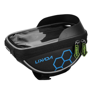 Lixada Bicycle Bag Frame Phone Bag