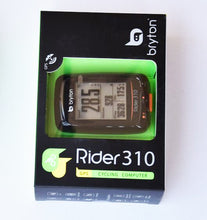 Load image into Gallery viewer, Bryton Rider 310 GPS Cycling Bicycle Computer - Bike-Moto