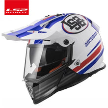 Load image into Gallery viewer, LS2 MX436 off road motorcycle helmet with sunshield ls2 pioneer Motocross helmet