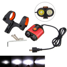 Load image into Gallery viewer, 10000LM 2xXM-L L2 LED Rechargeable Bicycle Light Headlamp