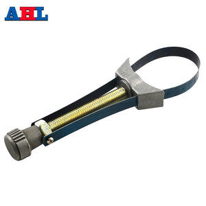 Motorcycle Oil Filter Removal Tool Strap Wrench Diameter Adjustable 60mm To 120mm