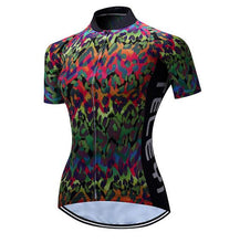 Load image into Gallery viewer, Women's Cycling Jersey Short Sleeve Breathable Cycling Clothing