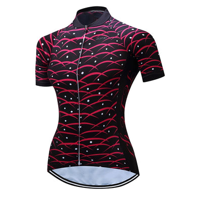 Women's Cycling Jersey Short Sleeve Breathable Cycling Clothing