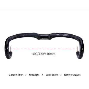 Carbon Bicycle Handlebar Road integrated UD matt Di2 Drop bar 40 42 44cm