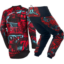Load image into Gallery viewer, Element Attack Motocross Motorcycle Jersey & Pants Off-road Hi-Viz Kit MX Set - Bike-Moto