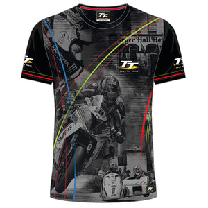 Isle of Man TT Races Custom's T'Shirt 3D Print Motorcycle