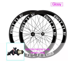 Load image into Gallery viewer, OG-EVKIN Carbon Road Wheels 50mm Clincher Bicycle 700C Wheelset