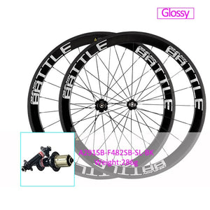OG-EVKIN Carbon Road Wheels 50mm Clincher Bicycle 700C Wheelset