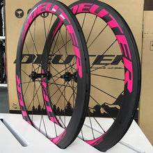 Load image into Gallery viewer, 2018 Newest 700C clincher carbon road bike wheelset 50mm ultra-light road bicycle wheels - Bike-Moto