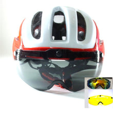 Load image into Gallery viewer, Szelyia Mountain Road Bike Helmet 3 lens glasses 2018 version