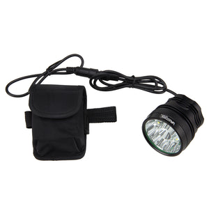 25000LM Bike Light Set 13x XML T6 Headlight Torch Lamp +6x18650 Battery +Headband