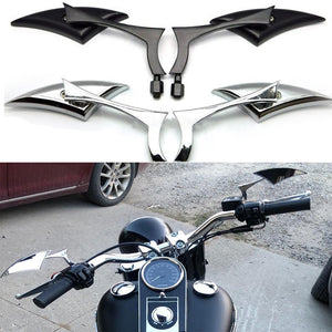 Motorcycle Rearview Mirror Handle Side Mirrors For Harley Sportster