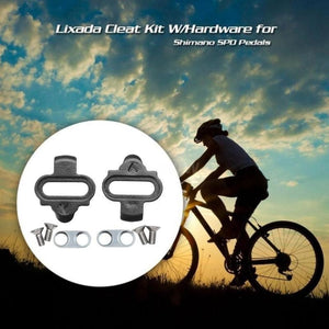 MTB Bike Bicycle Lock Pedal Plate Adapter Converter Clipless