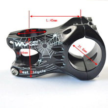 Load image into Gallery viewer, 31.8MM / 35MM Bicycle Stem Aluminum Alloy MTB Mountain Road Handlebar Stem
