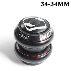 Mountain bike tapered headset bearings bowl set